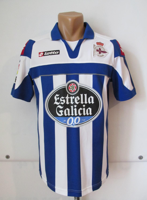 d0b555e0c Deportivo La Coruna Home camisa de futebol 2012 - 2013.