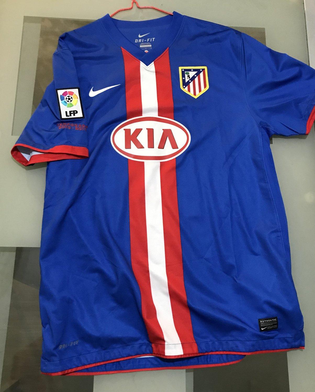 Atletico Madrid Maglia da trasferta maglia di calcio 2010 - 2011 ...
