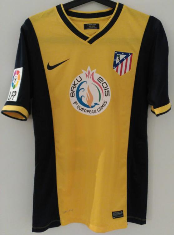 Atletico Madrid Away football shirt 2013 - 2014.