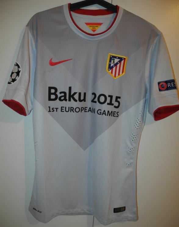 Atletico Madrid Away football shirt 2014 - 2015.