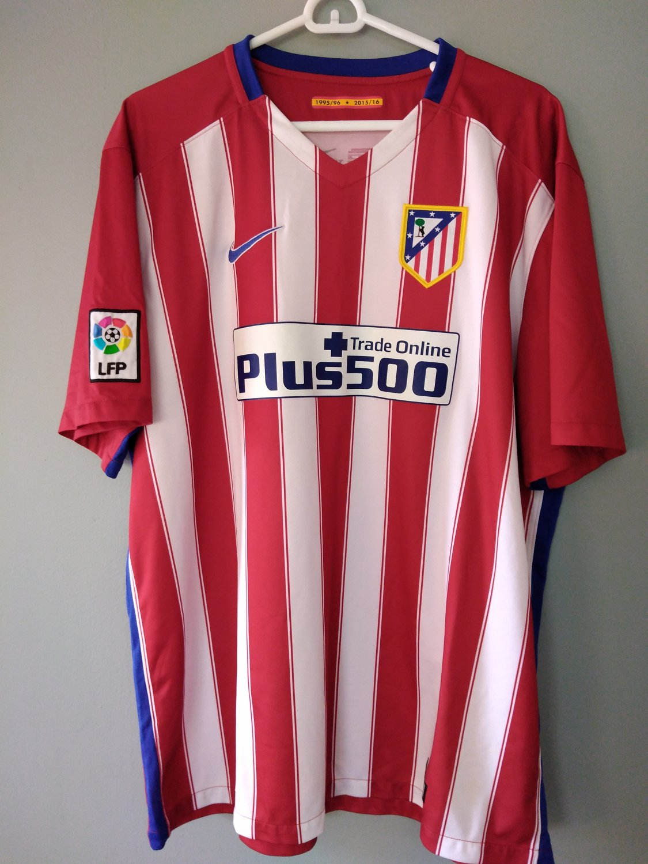 Atletico Madrid Third חולצת כדורגל 2017 2018.