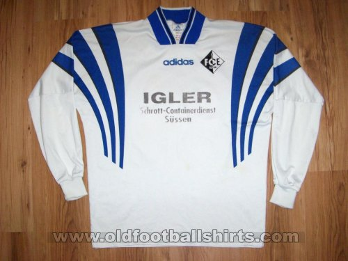 1. FC Eislingen Away football shirt 1996 - 1998