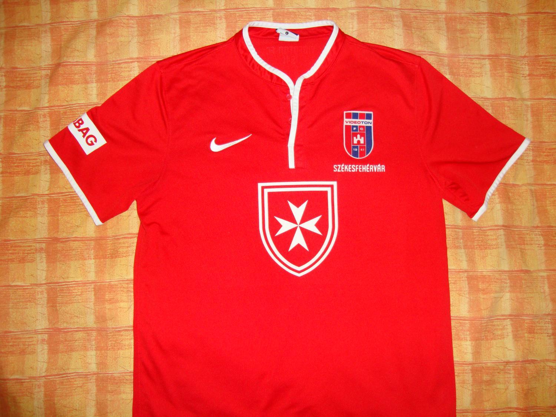 MOL Fehérvár FC Home football shirt 2013 - 2014.