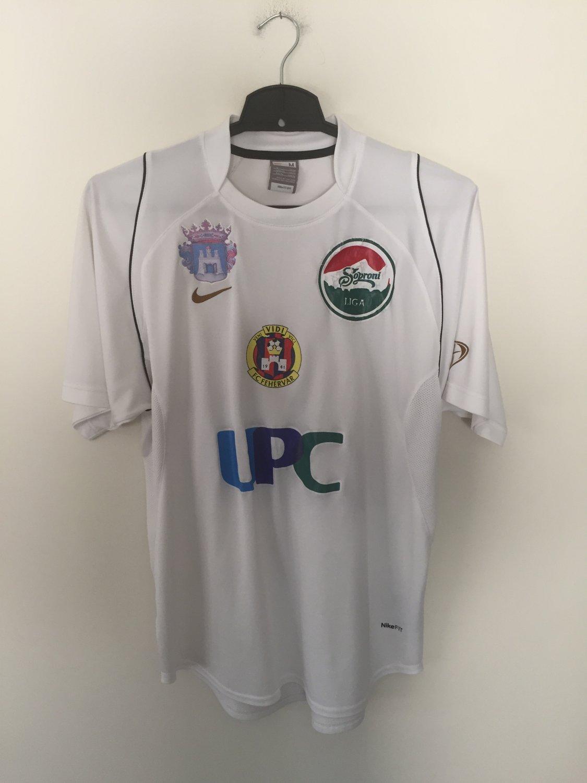 MOL Fehérvár FC Visitante Camiseta de Fútbol 2007 - 2008 ...
