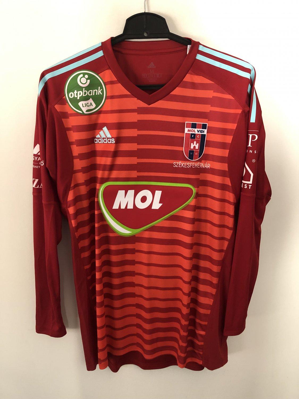 MOL Fehérvár FC Goalkeeper football shirt 2018 - 2019 ...