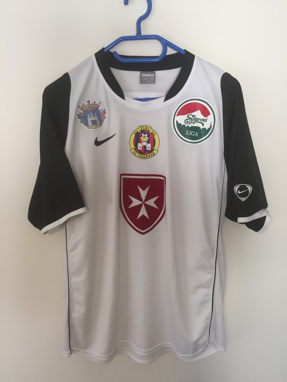 MOL Fehérvár FC Tercera camiseta Camiseta de Fútbol 2008 ...