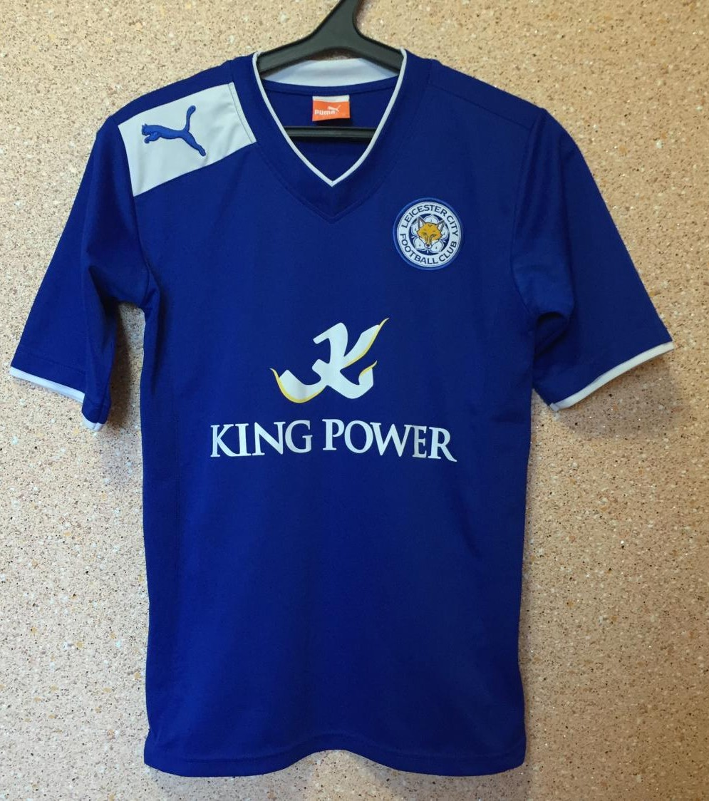 a69bdfb031c Leicester City Home maglia di calcio 2012 - 2013. Sponsored by King ...