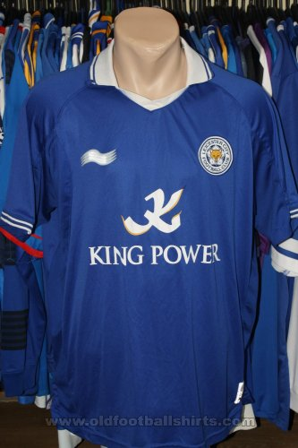 Leicester City Home football shirt 2011 - 2012