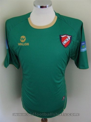 Colegio Nacional Iquitos Away baju bolasepak (unknown year)