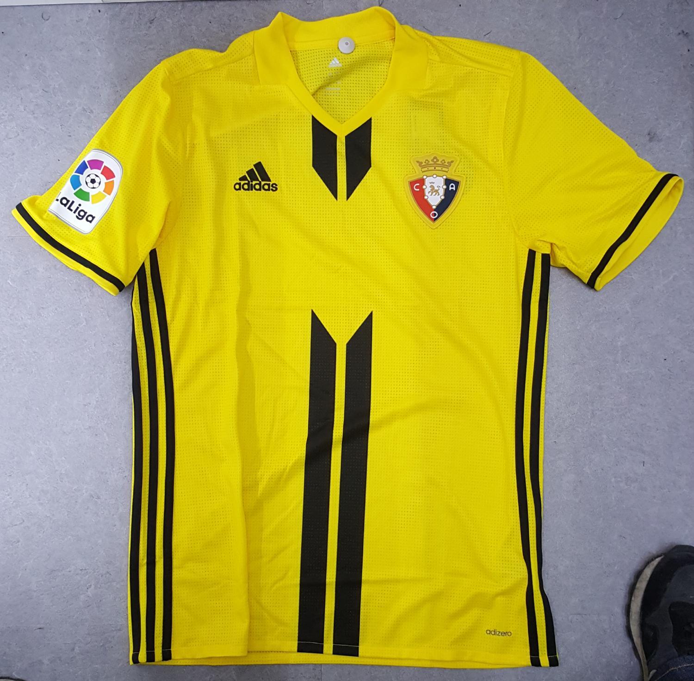 Osasuna Away football shirt 2017 2018.