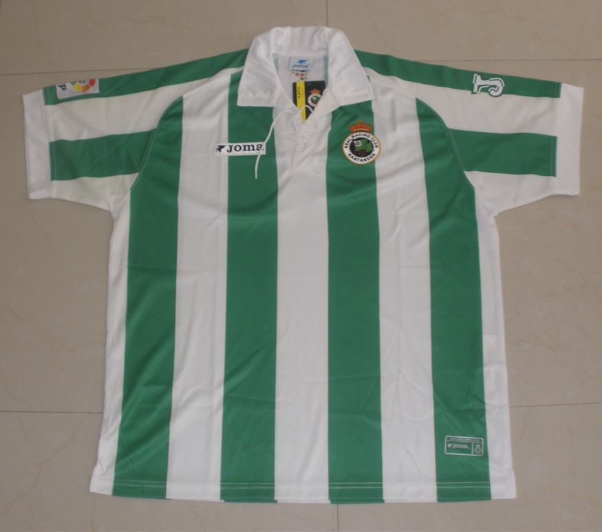Racing santander domicile maillot de foot 2006 2007 for Classic house 2006