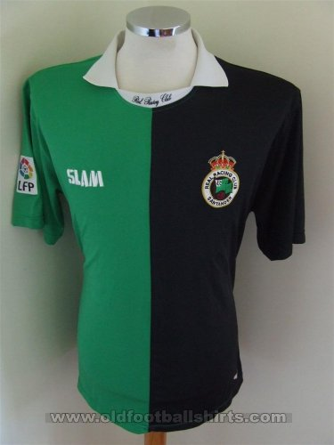 Racing Santander Away football shirt 2009 - 2010