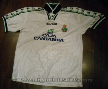 Racing Santander Home football shirt 1996 - 1997