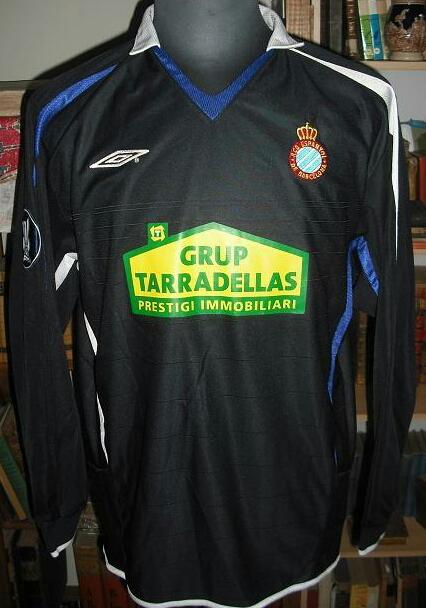 14013a7272e Espanyol Away camisa de futebol 2005 - 2006.