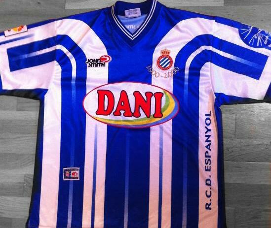 bc8eed37f5a81 Espanyol Cup Shirt camisa de futebol 2000.