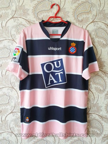 Espanyol Away football shirt 2007 - 2008