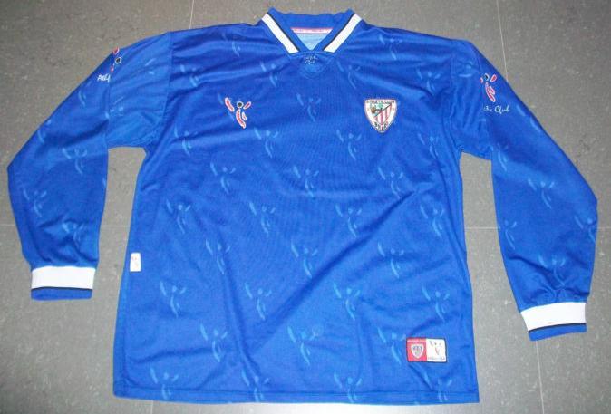 Athletic Bilbao Away football shirt 2001 - 2003.