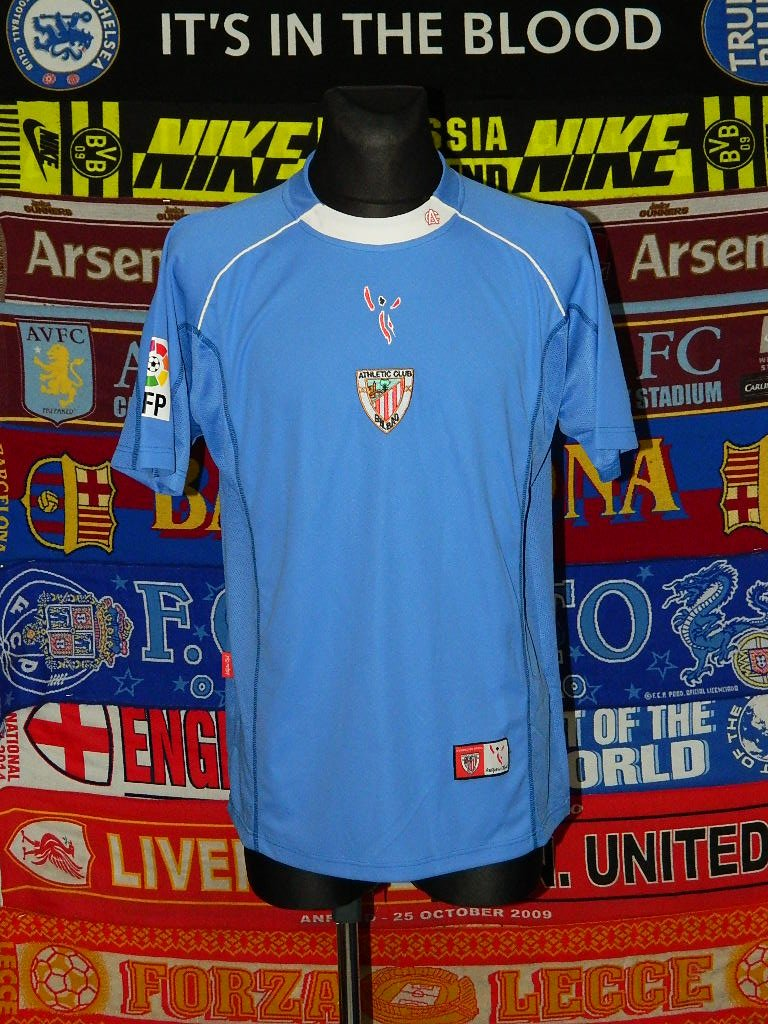 Athletic Bilbao Away football shirt 2005 - 2007.