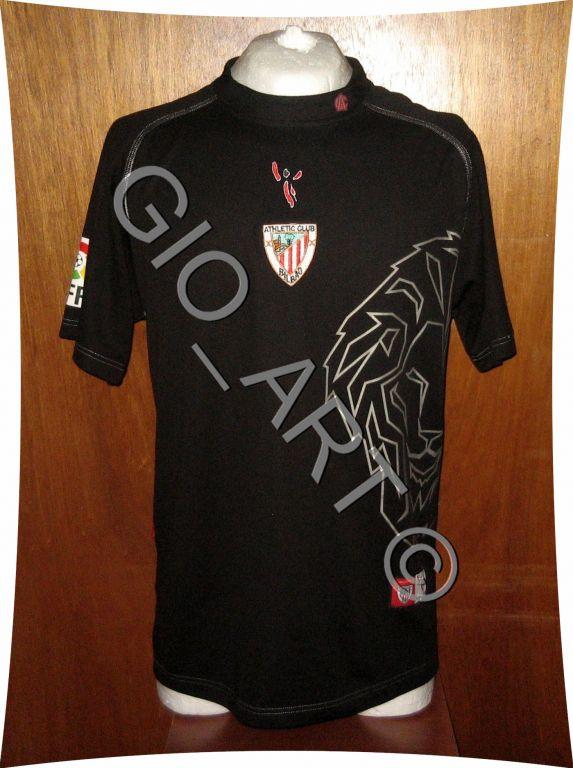 Compro Camisa Atlétic Bilbao com leão estilizado na lateral Athletic-bilbao-fora-camisa-de-futebol-2007-2008-s_12443_1