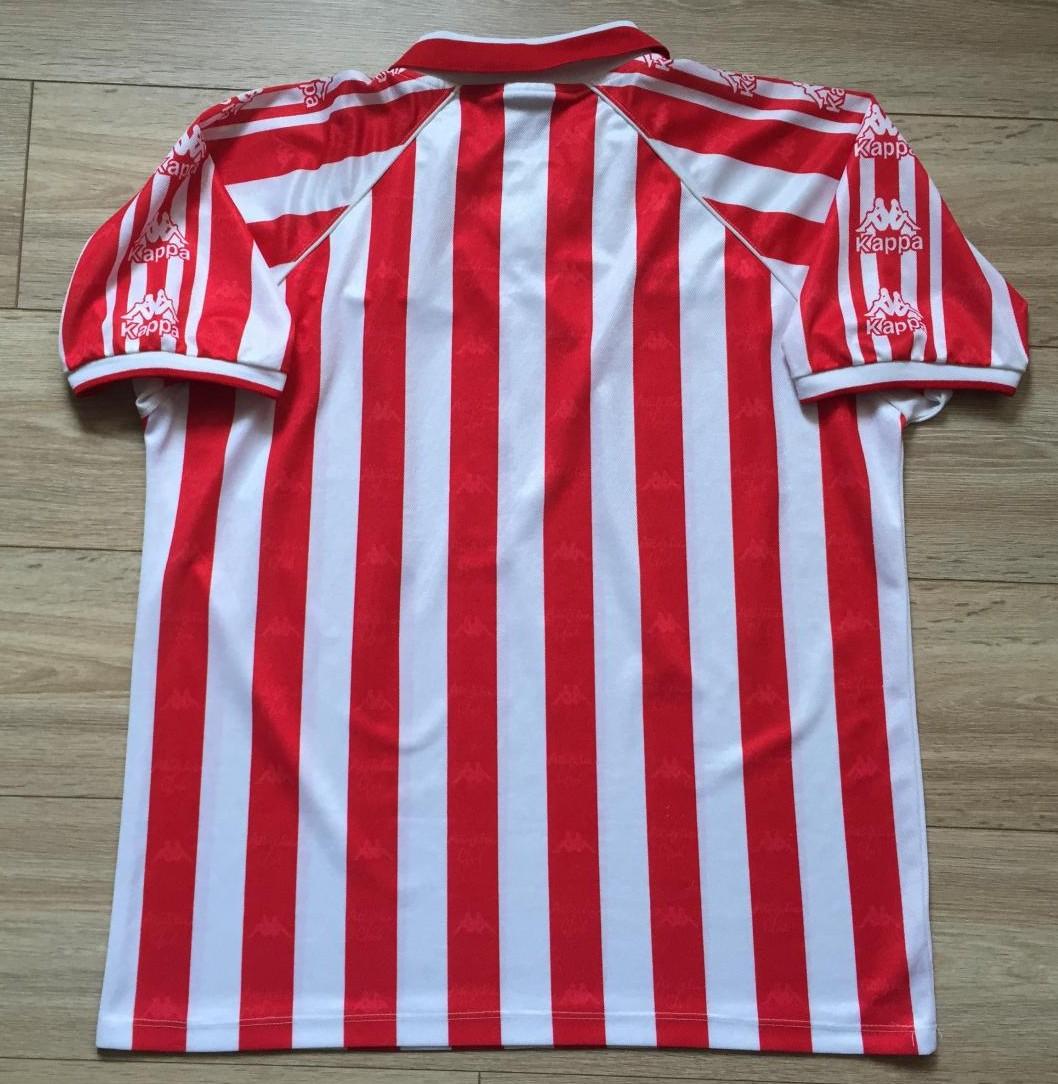 dd55566812f2b Athletic Bilbao Home Maillot de foot 1995 - 1997.