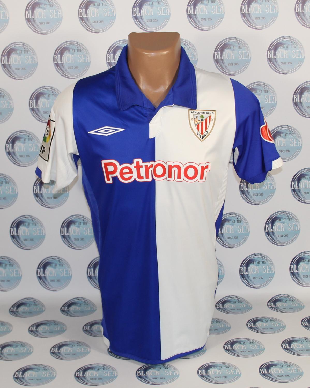 Athletic Bilbao Away camisa de futebol 2009 - 2010 ... c4324e69e6eff