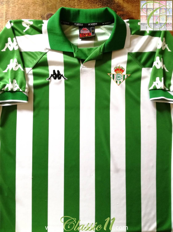 Verde Kappa Real Betis Balompi/é 2019-2020 Camiseta