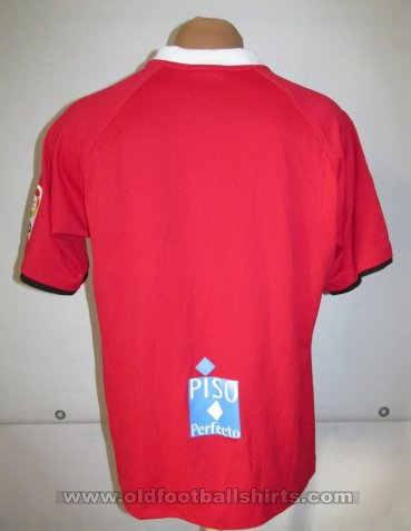 Gimnastic de Tarragona Home football shirt 2005 - 2006