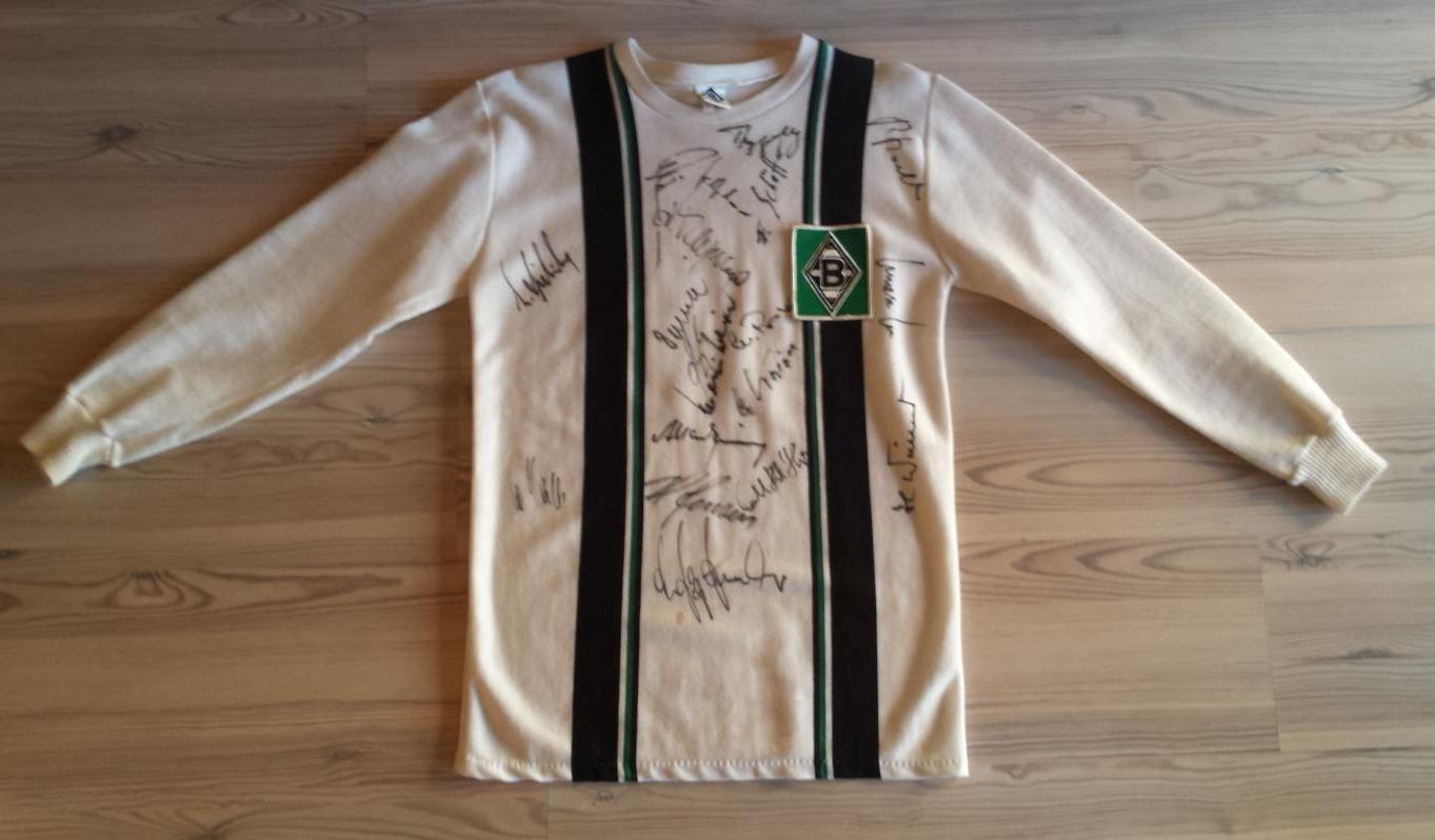 Borussia Mönchengladbach Home Fußball-Trikots 1974 - 1975 ...