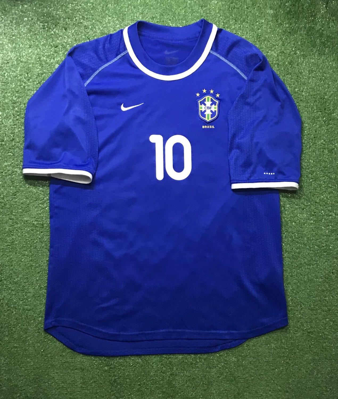 Brazil Away football shirt 2000 - 2002.