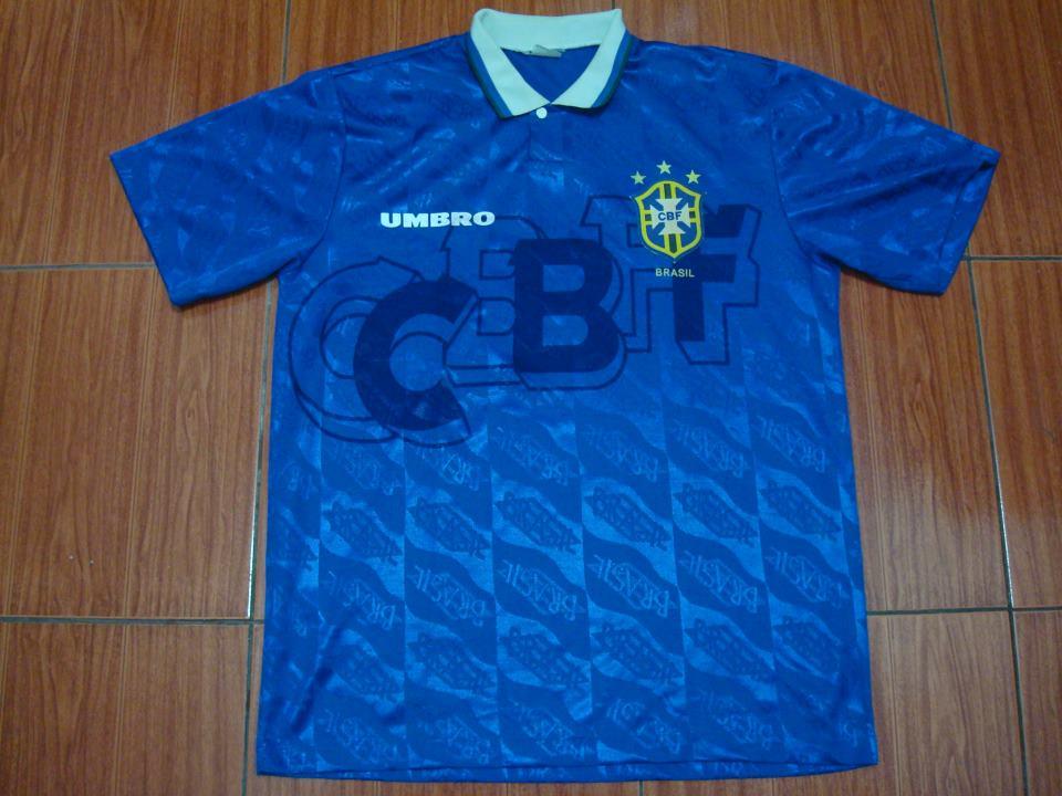 27a35c855 Brazil Cup Shirt fotbollströja 1994.
