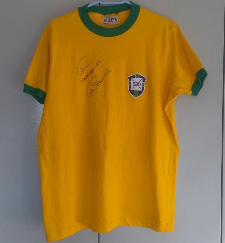 Brazil Retro Replicas fotbollströja 1970.