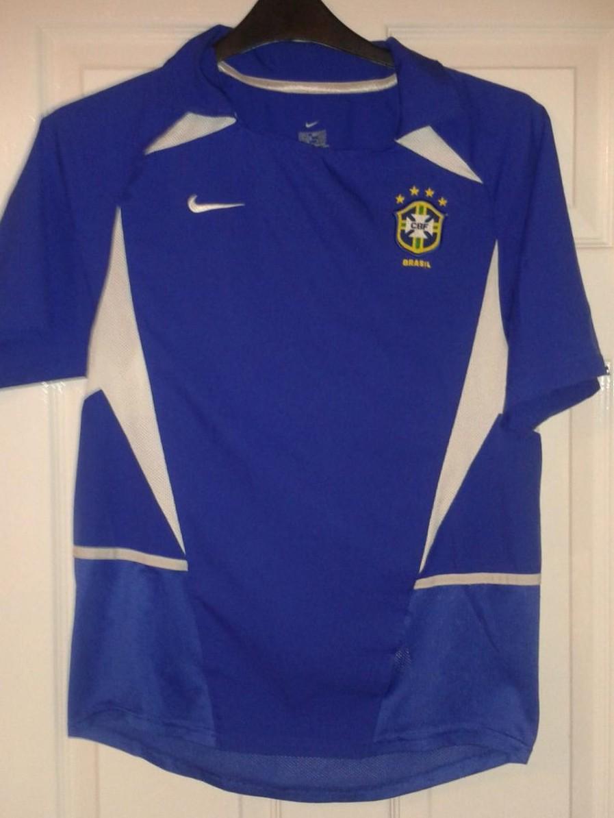 Brazil Away football shirt 2002 - 2004.