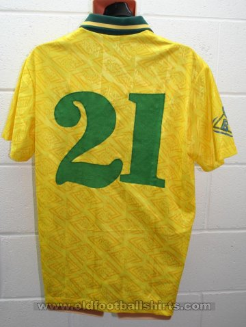 Brazil Home football shirt 1992 - 1993