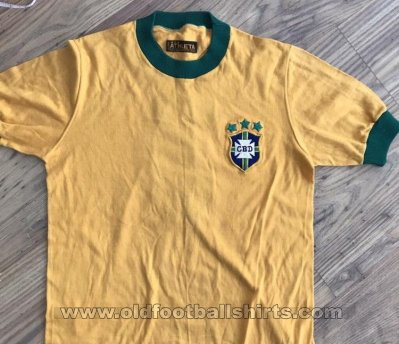 Brazil Home football shirt 1973 - 1974