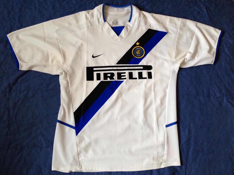 Internazionale Away football shirt 2002 - 2003.