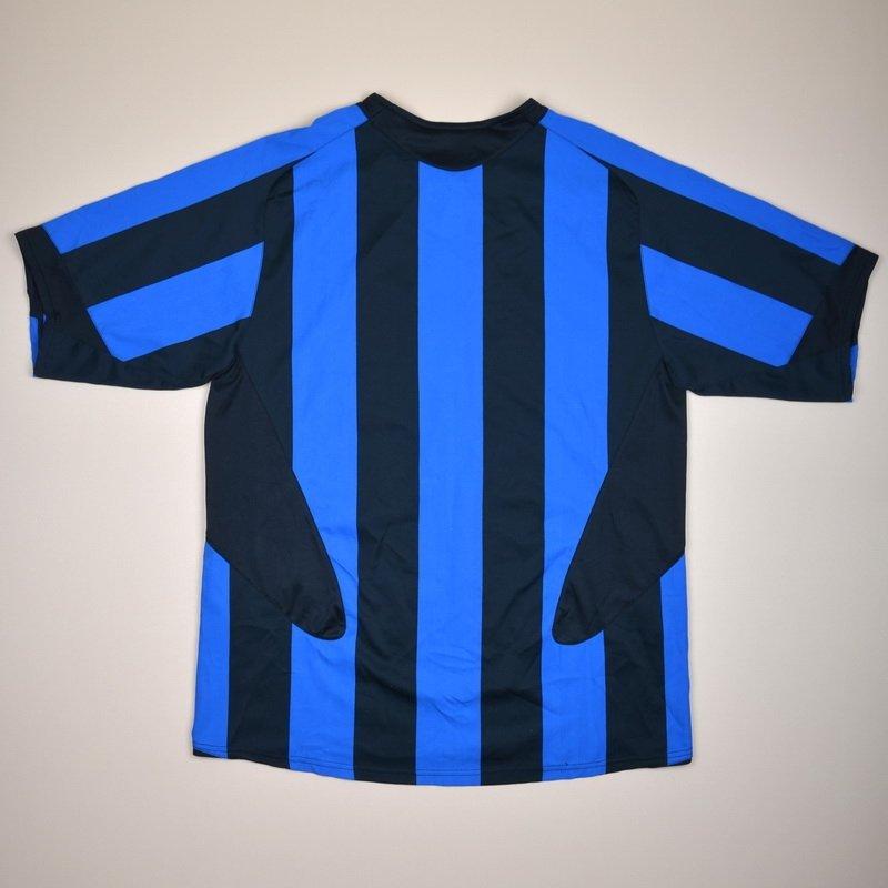 ac4f4dd6998 Internazionale Home camisa de futebol 2005 - 2006.