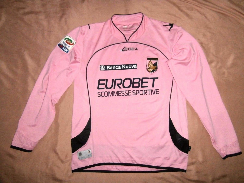 ddb24f1432cb6 Palermo Home camisa de futebol 2010 - 2011.