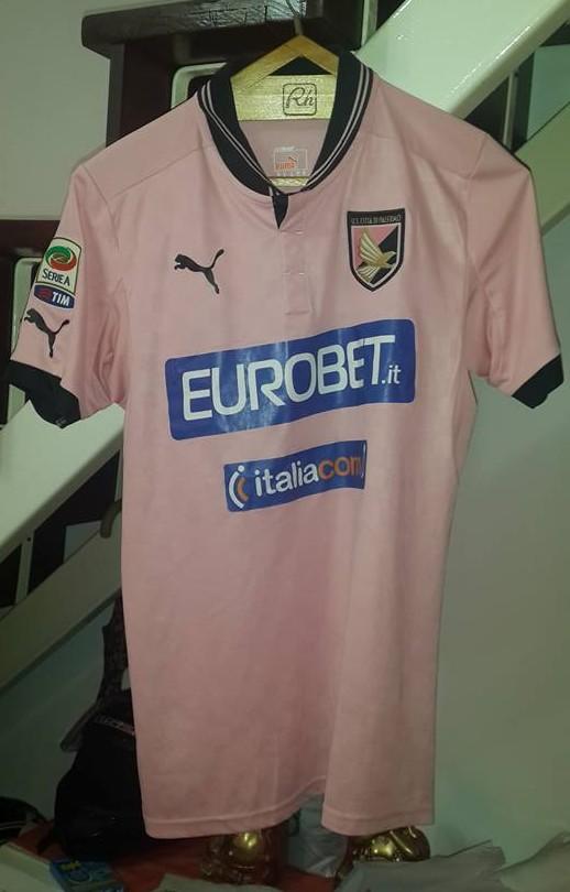 071ccf552 Palermo Home maglia di calcio 2013 - 2014.