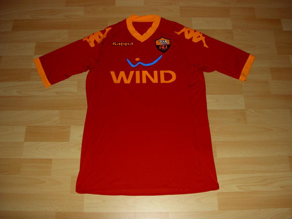 61a27f7656 Roma Home camisa de futebol 2009 - 2010.
