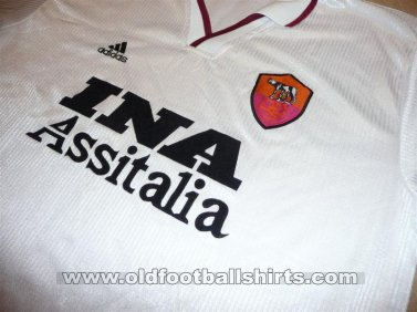 Roma Away football shirt 1999