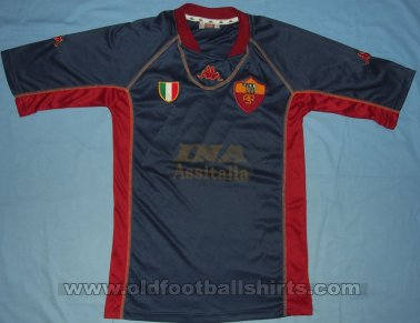 Roma Third football shirt 2001 - 2002