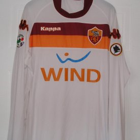 Roma Away football shirt 2009 - 2010 sponsored by Wind