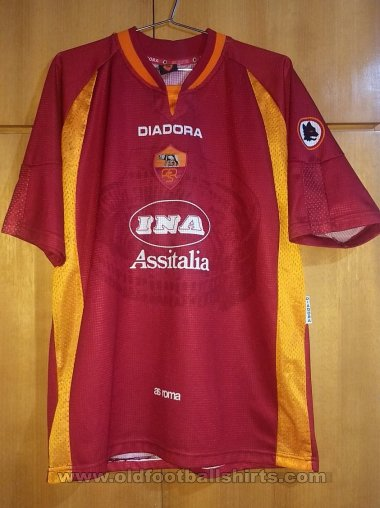 Roma Home Maillot de foot 1997 - 1998