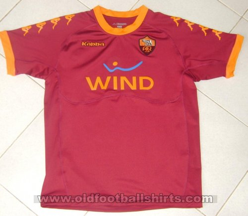 Roma Home football shirt 2010 - 2011