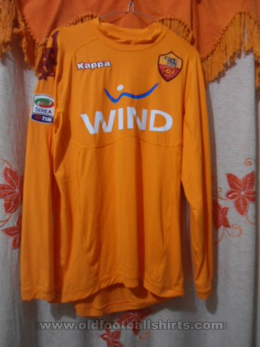 Roma Goalkeeper football shirt 2010 - 2011