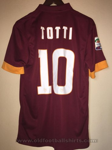 Roma Home football shirt 2014 - 2015