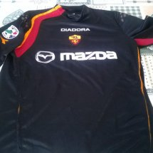 Roma Home Maillot de foot 2004 - 2005 sponsored by Mazda