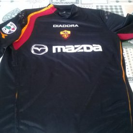 Roma Type de maillot inconnu 2004 - 2005 sponsored by Mazda