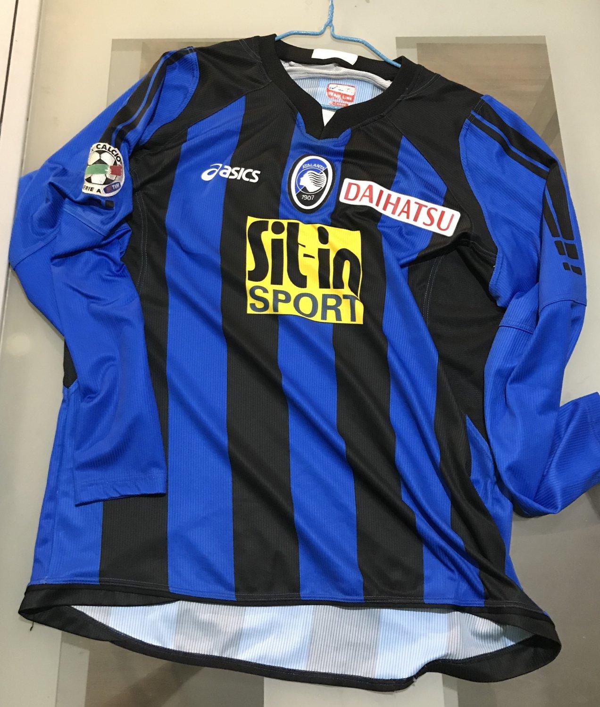 Fußball-Trikots von ausländischen Vereinen Fußball-Trikots von italienischen Vereinen 2007-08 Montolivo Fiorentina Matchworn Shirt Signed No Milan Atalanta Italy
