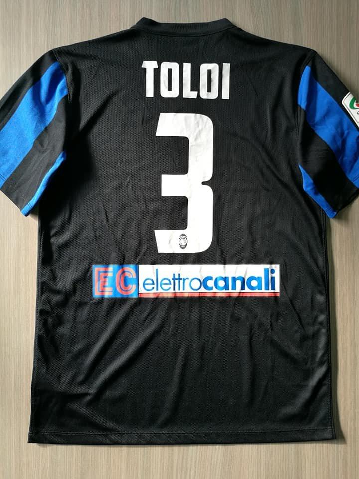 Fußball-Trikots von italienischen Vereinen 2007-08 Montolivo Fiorentina Matchworn Shirt Signed No Milan Atalanta Italy Fußball-Artikel